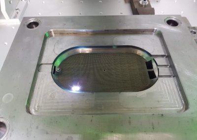 5.wykonywanie struktury laserem