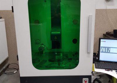Laser 3D, który odtworzył strukturę